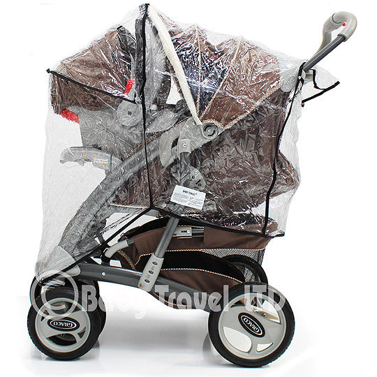 Rain Cover To Fit Graco Oasis Ts & Stroller - Baby Travel UK  - 1