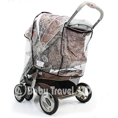 Rain Cover To Fit Graco Oasis Ts & Stroller - Baby Travel UK  - 2