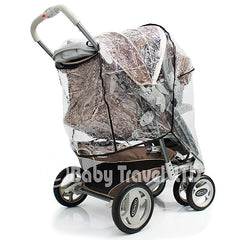 Rain Cover To Fit Graco Oasis Ts & Stroller - Baby Travel UK  - 4