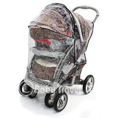 Rain Cover To Fit Graco Oasis Ts & Stroller - Baby Travel UK  - 5