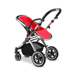 iVogue Apple Luxury 3in1 Pram Stroller Travel System By iSafe (Changing Bag+Car
