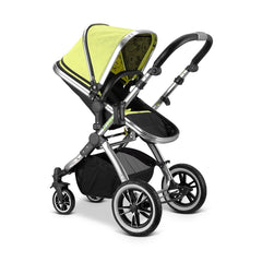 iVogue Pear Luxury 3in1 Pram Stroller Travel System By iSafe +Car Seat+ISOFIX Base