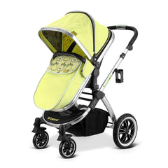 SALE!!! iVogue - Pear Luxury 3in1 Pram Stroller Travel System By iSafe (Complete With Carseat)