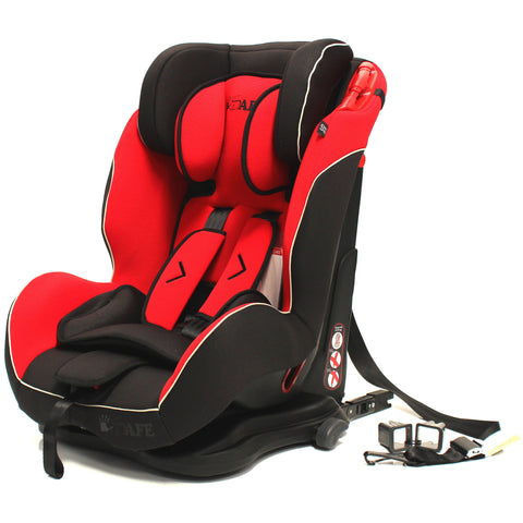 iSafe Isofix Duo Trio Plus Isofix  Top Tether Car Seat Carseat Pepper