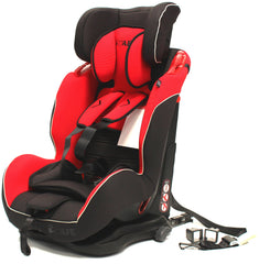 iSafe Isofix Duo Trio Plus Isofix  Top Tether Car Seat Carseat Pepper - Baby Travel UK  - 4
