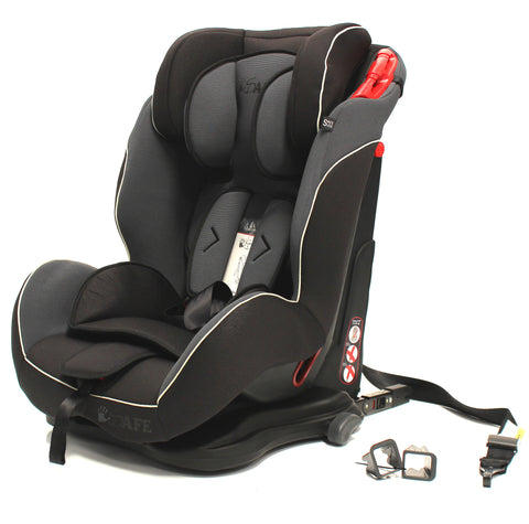SALE!!! iSafe Isofix Duo Trio Plus Isofix  Top Tether Car Seat Carseat Mocca