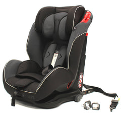 iSafe Isofix Duo Trio Plus Isofix  Top Tether Car Seat Carseat Mocca - Baby Travel UK  - 1