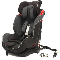 iSafe Isofix Duo Trio Plus Isofix  Top Tether Car Seat Carseat Mocca - Baby Travel UK  - 5