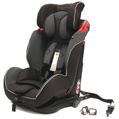 iSafe Isofix Duo Trio Plus Isofix  Top Tether Car Seat Carseat Mocca - Baby Travel UK  - 4