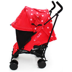iSafe Media Viewing Bow Dots Stroller Buggy Complete Package - Baby Travel UK  - 3