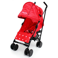 iSafe Media Viewing Bow Dots Stroller Buggy Complete Package - Baby Travel UK  - 5