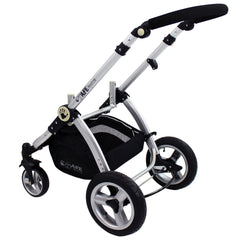 iSafe 3 in 1 - Black (With Car Seat) Travel System Pram Options - Baby Travel UK  - 11