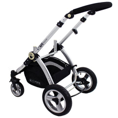 iSafe Baby Stroller Pram 3 in 1 - C&M Design (Complete With Car Seat) - Baby Travel UK  - 10