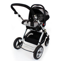 iSafe System - Black Travel System Complete Package With Bedding - Baby Travel UK  - 10