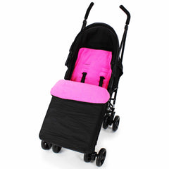 Buddy Jet Footmuff Cosy Toes For Hauck Shopper Shop n Drive Travel System (Rainbow/Black) - Baby Travel UK  - 9