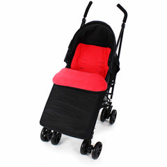 Buddy Jet Footmuff  For Hauck London All in One Travel System (Rainbow/Black) - Baby Travel UK  - 21