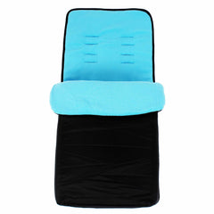 Universal Fit Footmuff Cosy Toes Liner Buggy Pram Stroller Baby Toddler New - Baby Travel UK  - 12