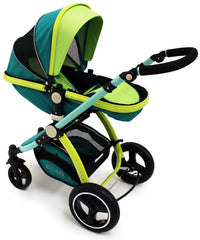 iSafe Baby Pram System 3 in 1 Complete - LiL Friend Design - Baby Travel UK  - 6