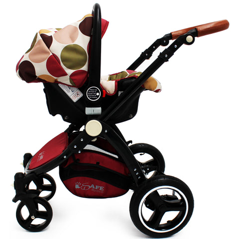 iSafe Infant Carseat Group 0+ - C&M Designs