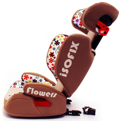 iSafe Carseat Kid Junior Isofix Group 2-3 FLOWERS 15-36kg Baby Child Toddler - Baby Travel UK  - 9