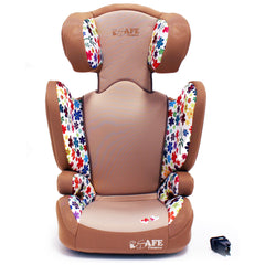 iSafe Carseat Kid Junior Isofix Group 2-3 FLOWERS 15-36kg Baby Child Toddler - Baby Travel UK  - 2