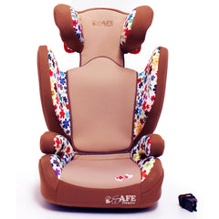 iSafe Carseat Kid Junior Isofix Group 2-3 FLOWERS 15-36kg Baby Child Toddler - Baby Travel UK  - 13