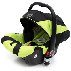 iSafe Complete 3in1 Trio Travel System Pram & Luxury Stroller - Lime - Baby Travel UK  - 16