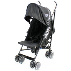 Zeta CiTi Stroller - Black Complete With Footmuff & Raincover - Baby Travel UK  - 5