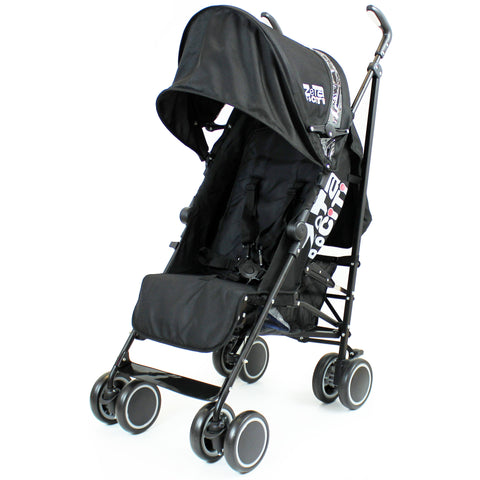 SALE!!! Zeta CiTi Stroller - Black From Birth With Free Rain Cover