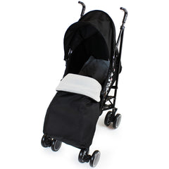 Zeta CiTi Stroller - Black Complete With Footmuff & Raincover - Baby Travel UK  - 3