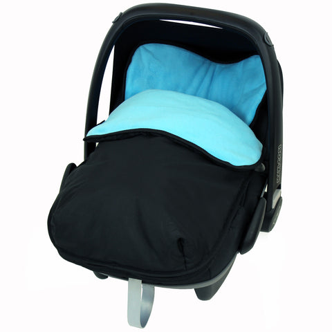 iSafe Buddy Jet Carseat Footmuff - Ocean (Black / Blue)