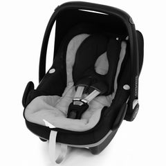 iSafe Buddy Jet Carseat Footmuff - Plum (Black / Purple) - Baby Travel UK  - 5