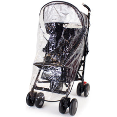 Rain Cover To Fit Maclaren Techno XT - Black Stroller Buggy - Baby Travel UK  - 2