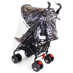 Rain Cover To Fit Maclaren Techno XT - Black Stroller Buggy - Baby Travel UK  - 4