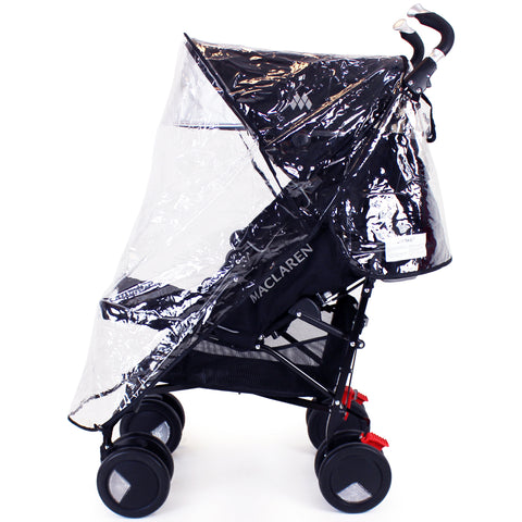 Raincover To Fit Maclaren Techno Xt Scarlett Pushchair