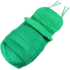 XXL Large Luxury Foot-muff And Liner For Mamas And Papas Armadillo - Leaf (Green) - Baby Travel UK  - 2