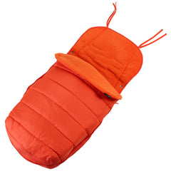 XXL Large Luxury Foot-muff And Liner For Maclaren Techno XT - Orange (Orange) - Baby Travel UK  - 2