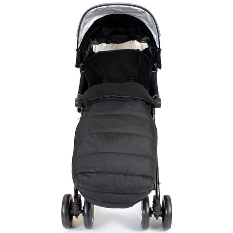 Stroller Footmuff Liner Large Toddler Sleeping Bag - Black