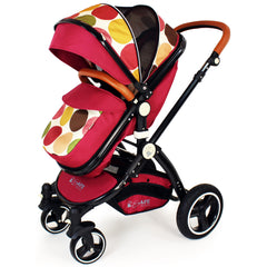 iSafe C&M Design 3in1 Complete Trio Travel System Pram & Luxury Stroller - Baby Travel UK  - 11