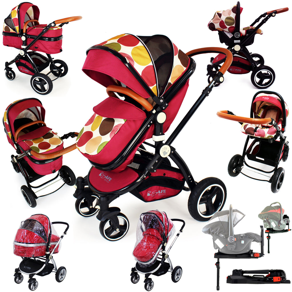 2016 iSafe Baby Pram System 3 in 1 Complete - C&M Designs - Baby Travel UK