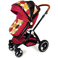 New iSafe Baby Pram System 3 in 1 Complete - C&M Designs - Baby Travel UK  - 3