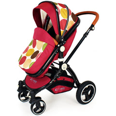 New iSafe Baby Pram System 3 in 1 Complete - C&M Designs - Baby Travel UK  - 4