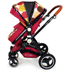 New iSafe Baby Pram System 3 in 1 Complete - C&M Designs - Baby Travel UK  - 5