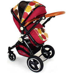 iSafe Baby Stroller Pram 3 in 1 - C&M Design (Complete With Car Seat) - Baby Travel UK  - 6