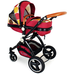 New iSafe Baby Pram System 3 in 1 Complete - C&M Designs - Baby Travel UK  - 10