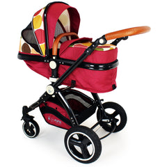 New iSafe Baby Pram System 3 in 1 Complete - C&M Designs - Baby Travel UK  - 11