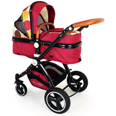 New iSafe Baby Pram System 3 in 1 Complete - C&M Designs - Baby Travel UK  - 12