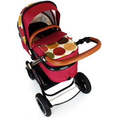 New iSafe Baby Pram System 3 in 1 Complete - C&M Designs - Baby Travel UK  - 13