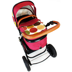 New iSafe Baby Pram System 3 in 1 Complete - C&M Designs - Baby Travel UK  - 14