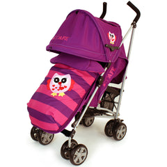 iSafe Buggy Stroller Pushchair Owl & Button Complete Package - Baby Travel UK  - 4